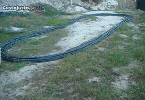 Tubo de água polietileno reforçado alta pressão