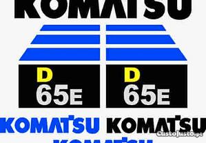 Kit de autocolantes para Komatsu D65E