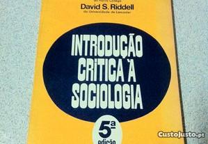 Introdução Crítica à Sociologia (portes grátis)