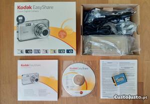 Caixa + Acessórios Originais KODAK EasyShare V1003