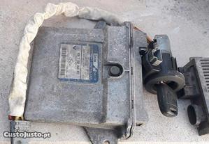 unidade motor e chave renault kangoo