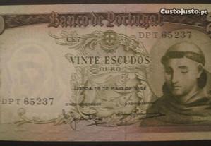 20$00 Santo António de 26 de Maio de 1964 Nova
