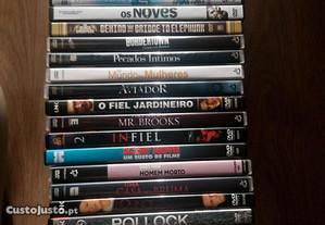 DVD's como novos