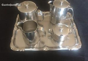 Serviço de chá e café em inox