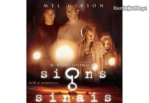 DVD Signs - Sinais NOVO SELADO Filme Mel Gibson Joaquin Phoenix ENTREGA JÁ