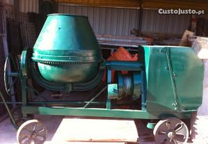 Betoneira a gasóleo motor Lister