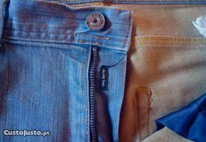 Calças Zara Man ganga tamanho 40