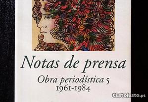 Notas de prensa - Obra periodística 5 (1961-1984)