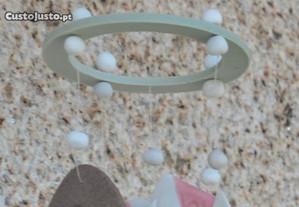 Espanta-Espíritos de Cerâmica Peixe + BarcoHANDME