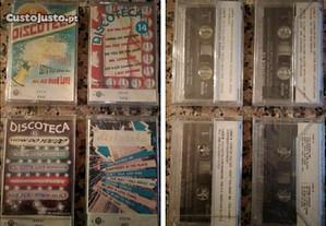 Cassetes de música (K7) [ler anuncio].