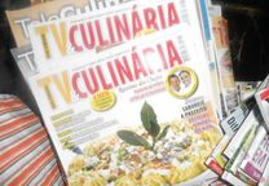 Revistas TV culinária