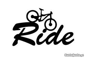 Autocolante ride bike