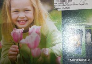 HP Everyday Glossy Photo Paper 100 folhas- 10x15cm