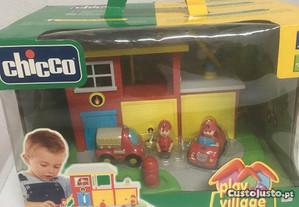 Brinquedo chico play village bombeiros