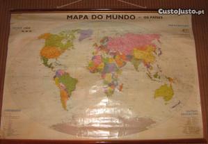 Mapa Mundo antigo