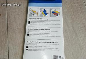 Velcro para lixadeiras e blocos rectangulares