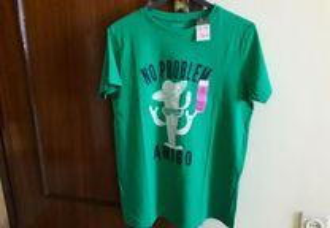 T-shirts rapaz novas