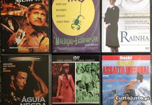 36 DVD Como NOVOS (Lote ou Individual)