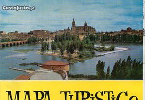 Salamanca - mapa turístico (1970)