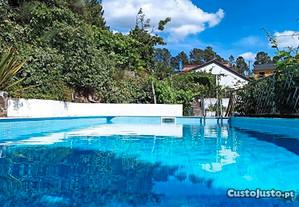 Casa férias V4 com piscina privada e churrasqueir
