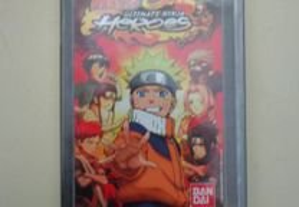 Jogo PSP - Naruto - Ultimate Ninja Heroes