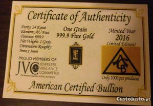 Ouro Fino 999.9 (24 KT)