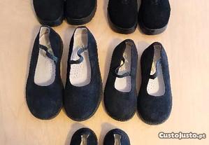 calçado criança - varios tamanhos - menino/menina