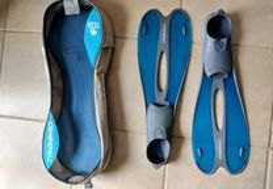 Barbatanas TRIBORD 35/36 Azul