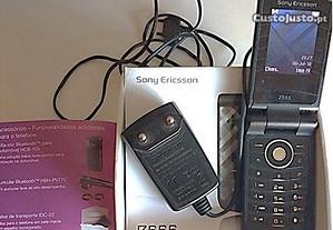 Sony Ericsson Z555 p/ peças a funcionar c/ bateria