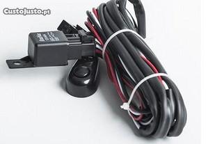 cablagem cabos ligação barra e farol Led