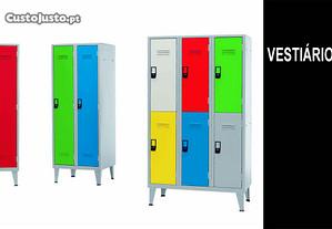 Vestiario metalico c/Portas1,2,3,4,5,6,7,8,9,10etc