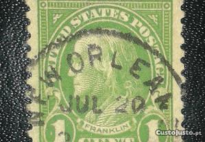 USA Stamp Benjamin Franklin (1923)