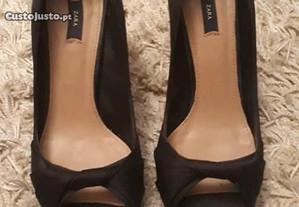 Sapatos pretos cerimónia da Zara, novos,tamanho 37