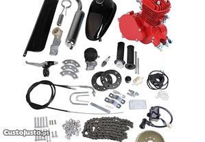 Kit de Motor Completo 80cc - Vermelho