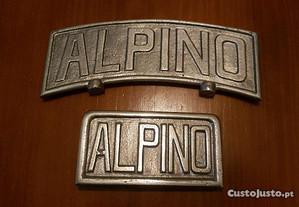 Placas para motorizada Alpino F48 (NOVAS)