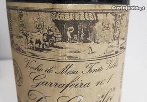 vinho tinto D.Camilo 750 ml garrafeira nº1 de 1975