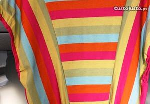 Blusa HUGO BOSS com riscas de várias cores T. S