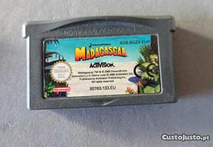 Jogo Game Boy Advance - Madagascar