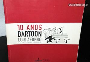 10 Anos Bartoon de Luís Afonso