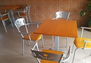 Mesas de Sala para Cafe/restaurante