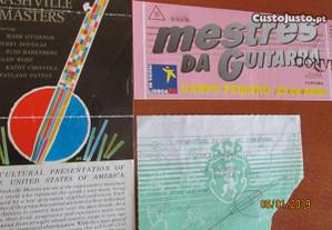 Bilhetes de concertos portugueses e estrangeiros