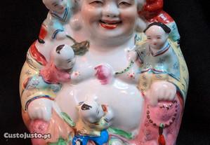Buda Cerâmica Policromada