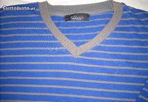 Pullover malha fina Zara Man tamanho XL