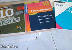 Livros Apoio 10 ano Física e Química