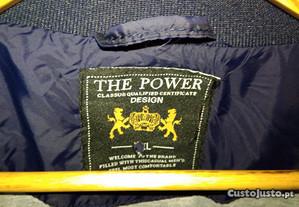 Parka, azul marinho, L, The Power.