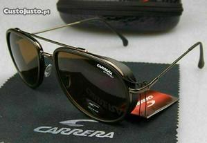Óculos de sol Carrera estilo 166/S castanho mate