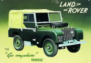 Material novo e usado para land rover serie 1,2,3
