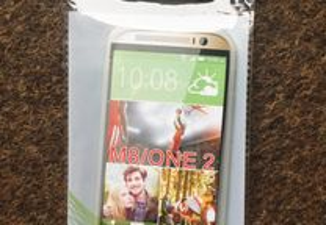 Capa de silicone para HTC One (M8) / HTC One 2