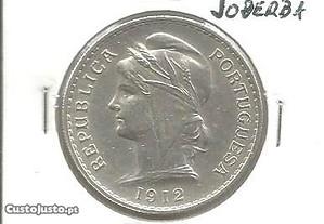 Espadim - Moeda de 50 Centavos de 1912 - Bela