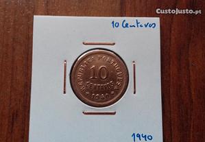 Moeda 10 Centavos 1940 - Soberba